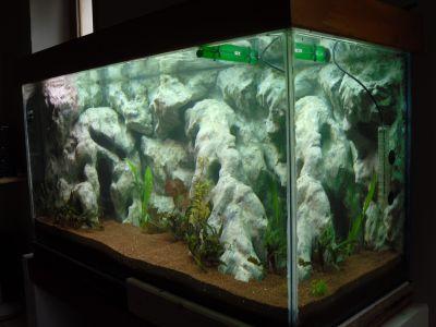 Decor Aquarium Avec De La Mousse Polyur Ef Bf Bdthane