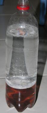 remplissage avec de l'eau