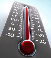 comment augmenter la temperature du thermometre
