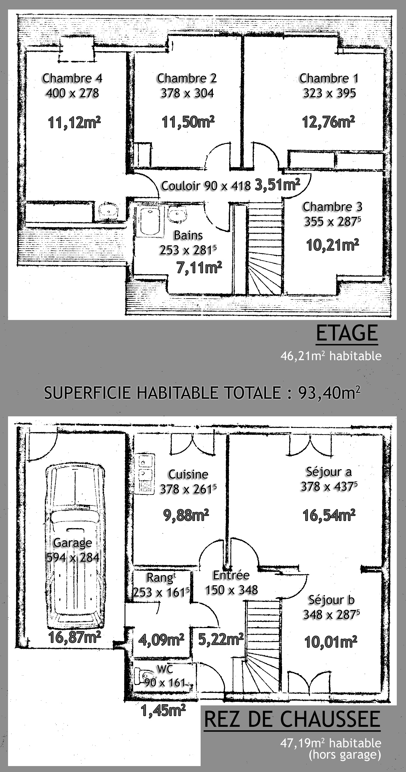 Plan de maison usa for Plan de maison zone llc